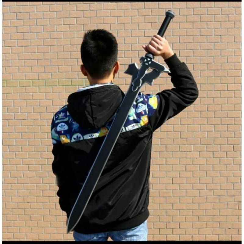 PEDANG COSPLAY KIRITO - PEDANG KIRITO ELUCIDATOR - PEDANG SWORD ART ONLINE