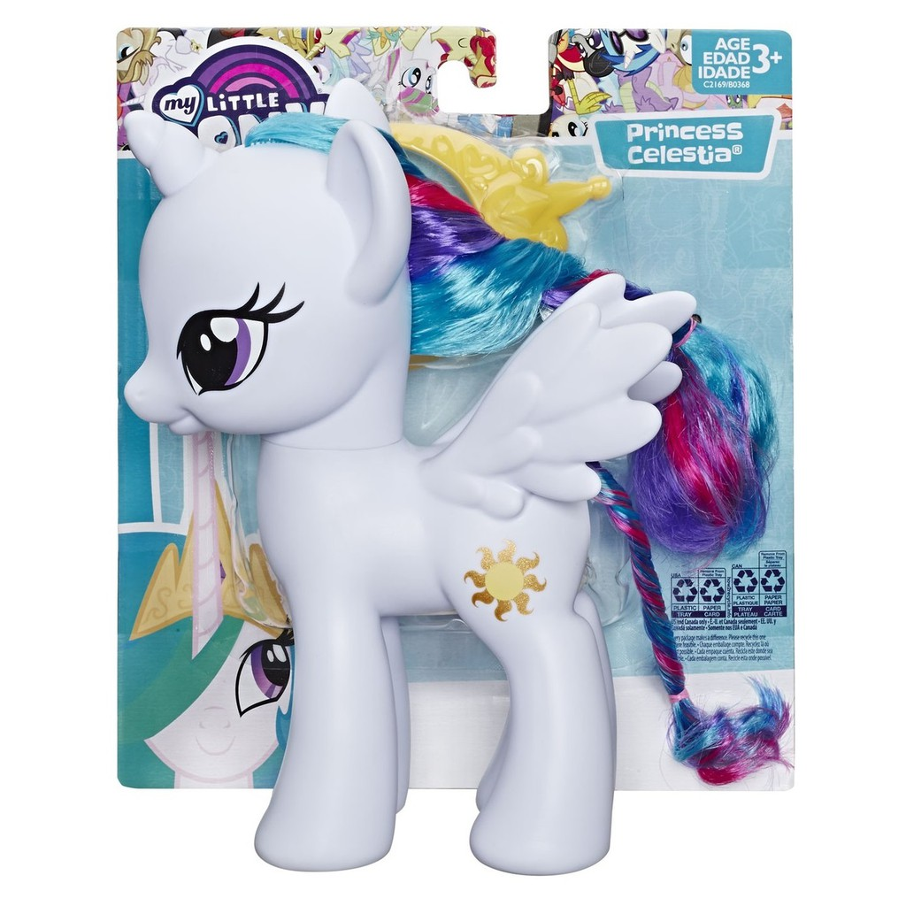 Hasbro My Little Pony Princess Celestia 8 Inch Basic Figure Shopee Indonesia