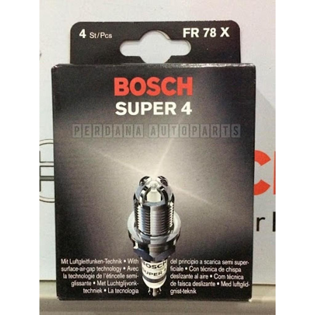 Bosch Busi Super 4 Fr78 Mobil Xenia 10i Th 06 On 1 Pcs Daftar Motor Matic Yamaha Mio Ur4ac 0242050004 Corolla 18 Th2001 2005 Fr78x Kaki