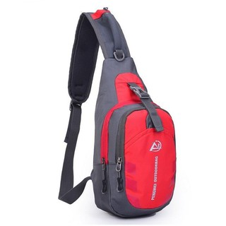 Tas Dada/Selempang Sport Bahan Oxford + Nylon Anti Air untuk Hiking, Bersepeda, Travel, Outdoor