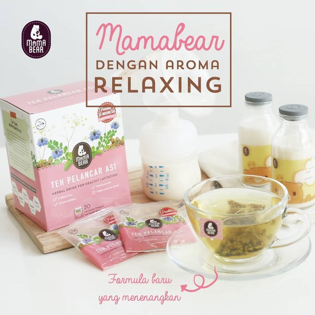 Mama Bear Asi Booster Nya Para Artis Teh Pelancar Mamabear Kantong Shopee Indonesia