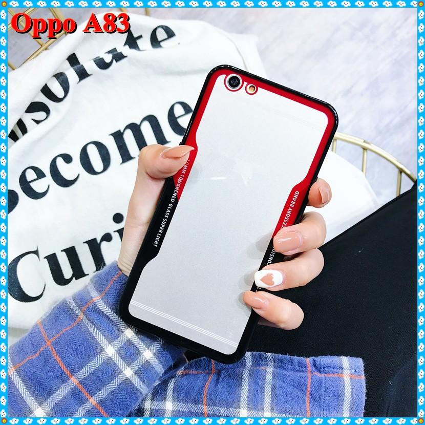 Glass Case OPPO A83 Tempered Premium HARD Casing Bumper Cover | Shopee Indonesia