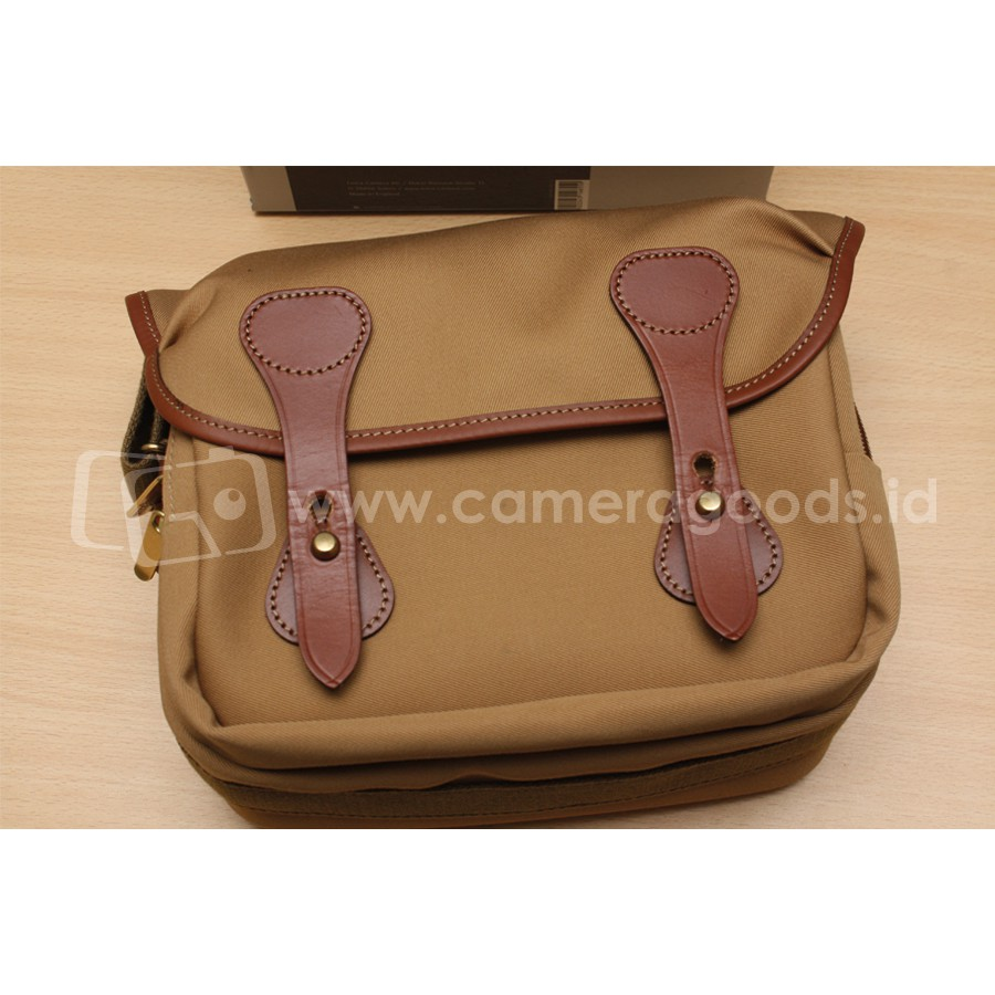 Billingham Hadley Small Sage Tan Shopee Indonesia Shoulder Bag Choc Leather Trim