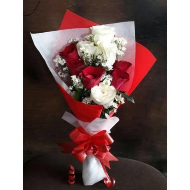 Bunga buket mawar kuning asli hadiah wisuda kado ulang tahun fresh flowers  bouquet  c87c4bebf6