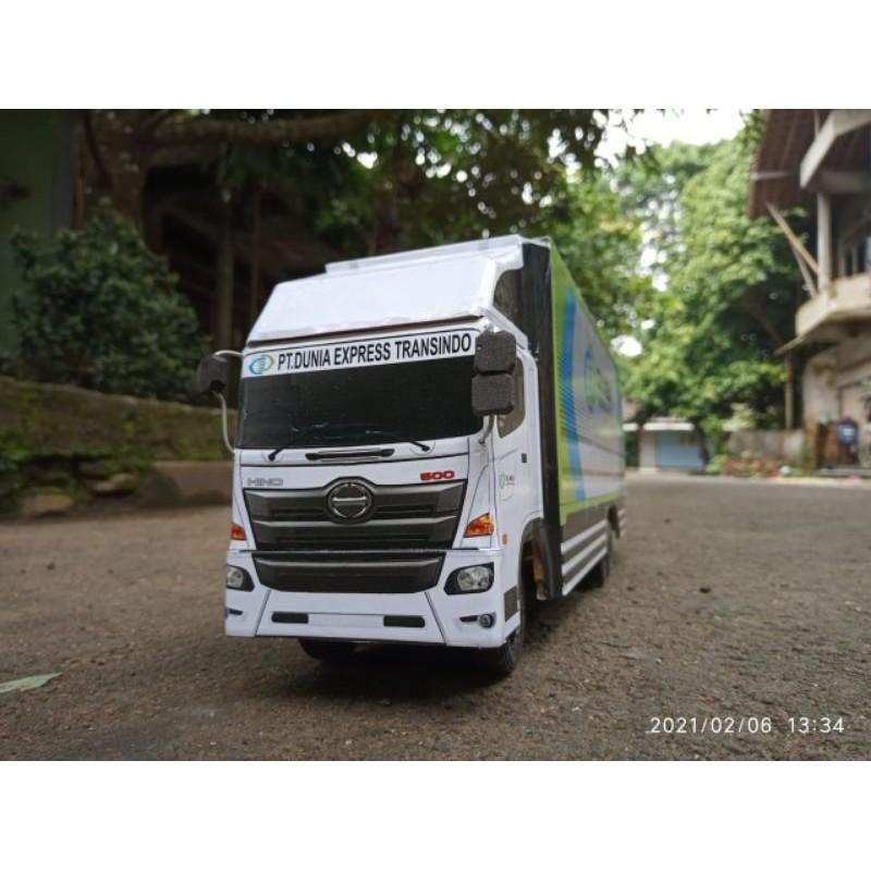 Miniatur Truck Tronton Dunex Shopee Indonesia