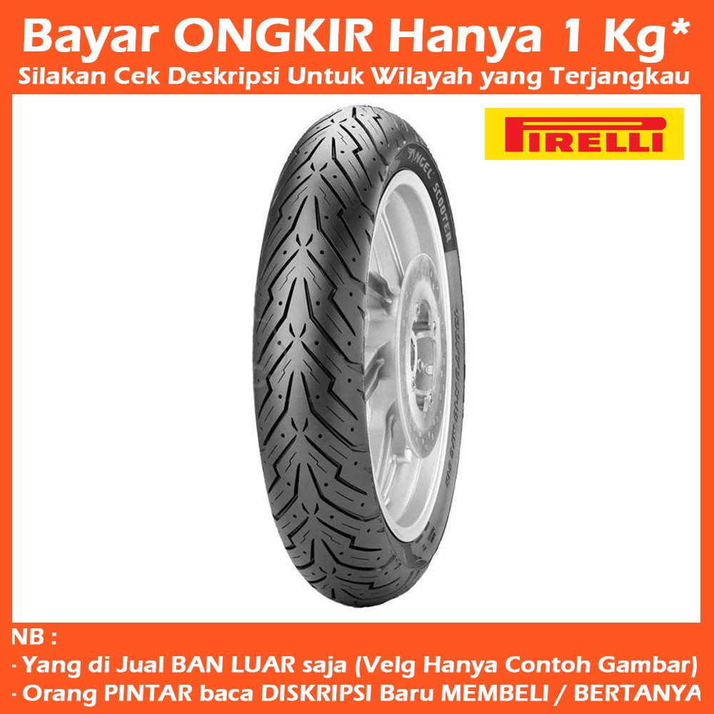 Ban Pirelli Angel Scooter For Vespa Ukuran 130 70 Ring 12 City 140 17 Berkualitas Shopee Indonesia