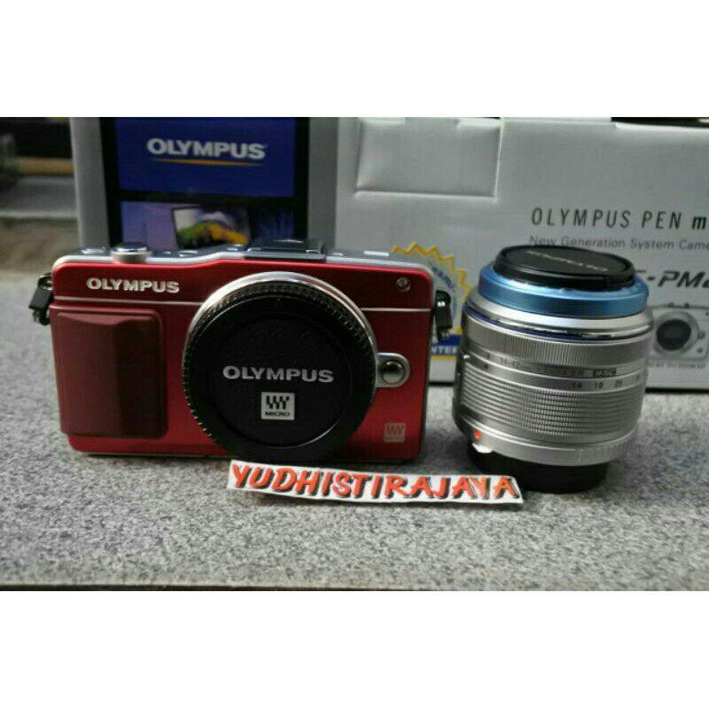 Olympus E-PM2 kit 14-42mm II R MSC Garansi Resmi