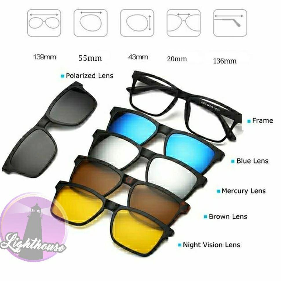 Kacamata Gaya Minus Plus Silindris Cewe Cowo Pria Wanita Kantor Resmi Besi  Oval  5aa3697f2e