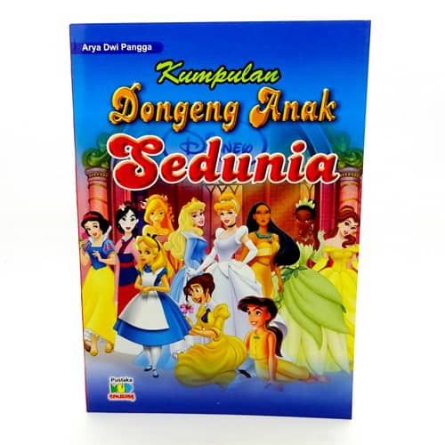 Buku Kumpulan Dongeng Anak Sedunia Shopee Indonesia