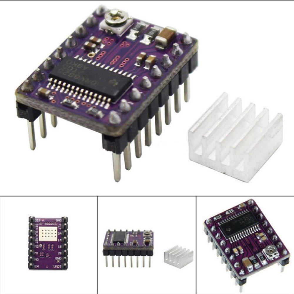 5X DRV8825 Stepper Motor Driver Module for 3D Printer Reprap RP A4988 Purple