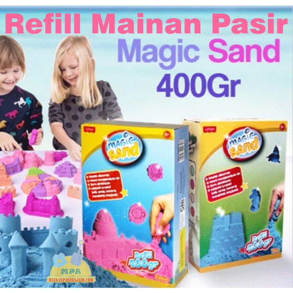 Mainan Pasir Ajaib Anak Model Sand Play Sand 2KG Dengan Mobil Kontruksi | Shopee Indonesia