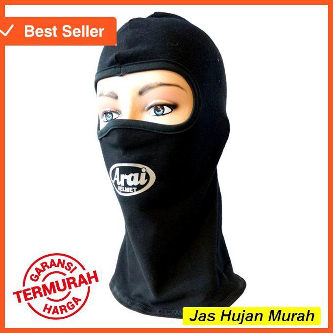 Terlaris Virgo Racing Masker Motor Full Face Model Arai Jaket Levis   Shopee Indonesia