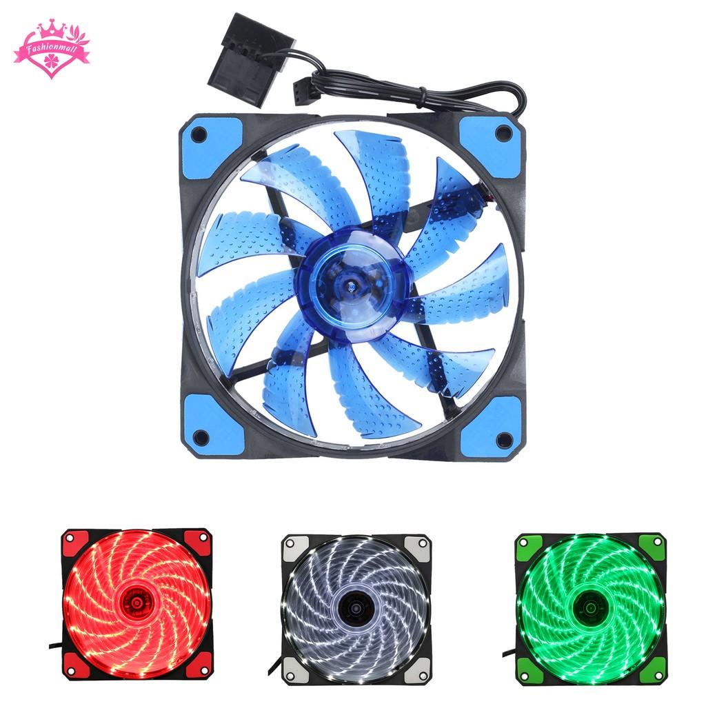 Black Plastic 120 x 120 x 25mm DC 12V Heatsink Cooling Fan 2Pcs for PC Case