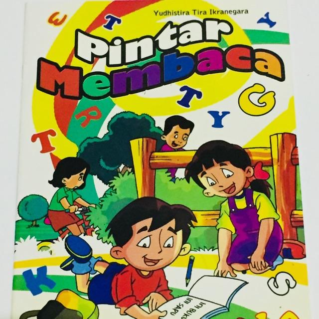 Buku Anak Pintar Membaca Untuk Anak Tk Dan Sd Kelas 1 2 Sdo Shopee Indonesia