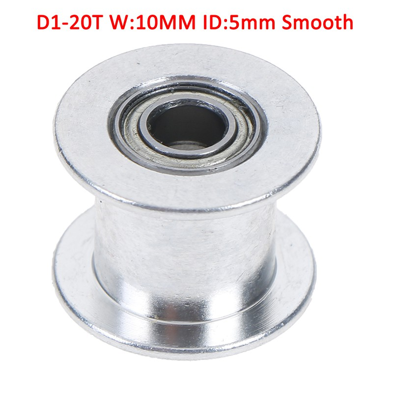 GT2 Idler Timing Pulley Bearing 16T 20T 3//5mm Bore F 6mm Belt /'Reprap 3D Prin G*