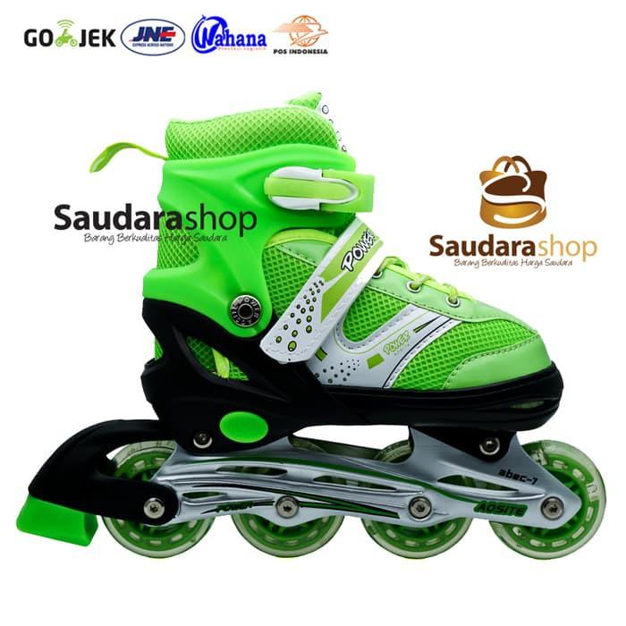 Power Sepaturoda Inline Murah Hijau   Sepatu roda Inline Murah Hijau ... ef6803a806