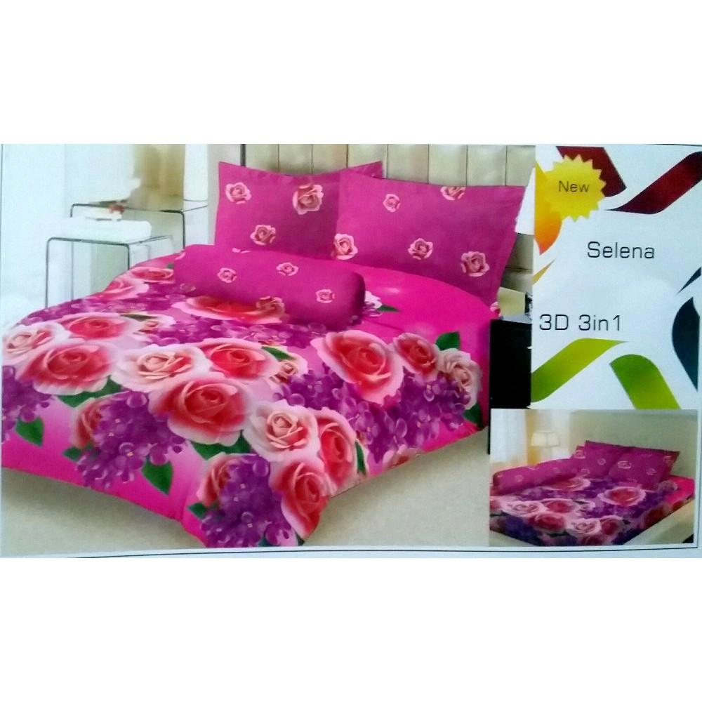 Sepre Ladyrose 180x200 B2g2 Hk Pink Daftar Harga Terbaru Dan Seprei California Mirah Bedcover Lady Rose Selena