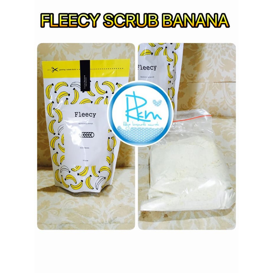 [ BANANA ] FLEECY SCRUB ORIGINAL