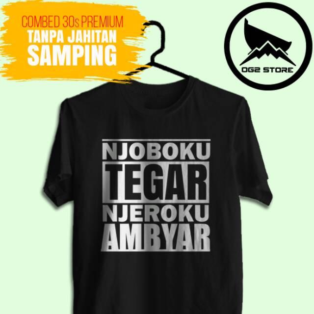 Kaos Distro Cowok Cewek Sobat Ambyar 06 Shopee Indonesia