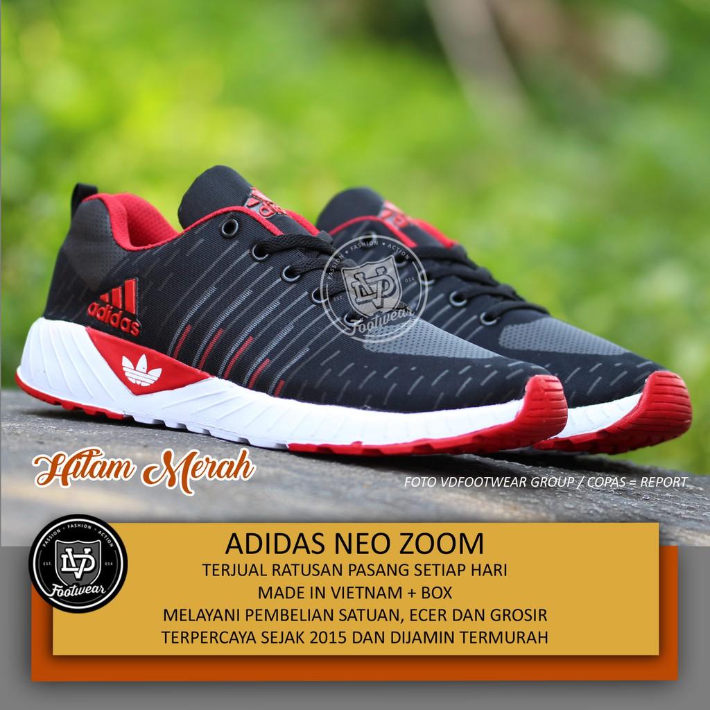 Sepatu Pria Adidas Neo Import Vietnam Grade Original Olahraga Casual  Sneakers Running Joging Lari  1153479af2