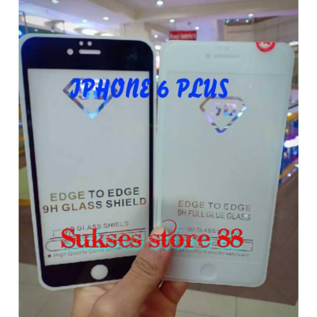 TEMPERED GLASS FULL COVER 5D/6D&9D/SCREEN GUARD 5D/6D&9D IPHONE 6 PLUS
