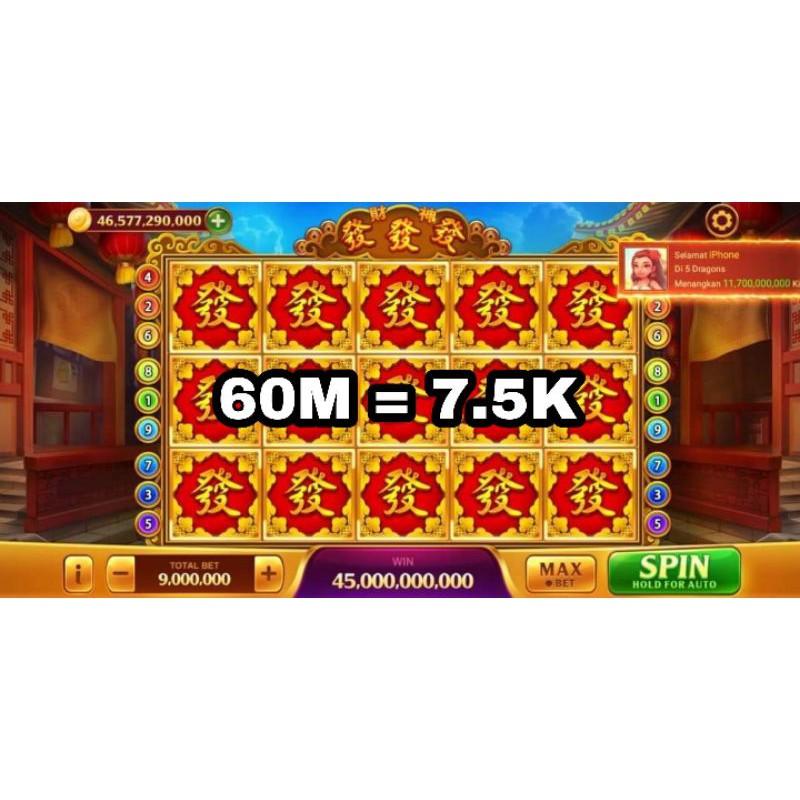 Koin Chip Sakti Domino Higgs 1B