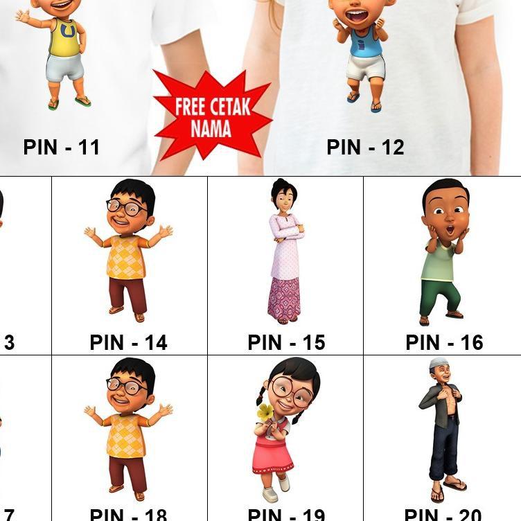 Xx Banyakpemi Mx Baju Kaos Anak Dan Dewasa Upin Ipin Couple Free Nama Kya Shopee Indonesia