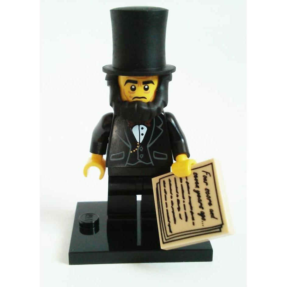Lego Movie Abraham Lincoln Minifig New