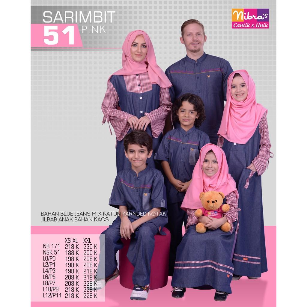 C04 | Seragam terbaru couple keluarga sarimbit branded murah koko gamis ayah ibu dan anak muslim. | Shopee Indonesia
