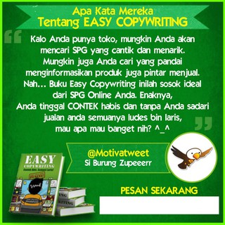 Buku Bisnis Online Easy Copywriting - Dewa Eka Prayoga ...