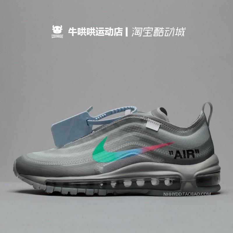 Original Casual OFF WHITE x Nike Air Max 97 Menta Casual Casual Sneakers