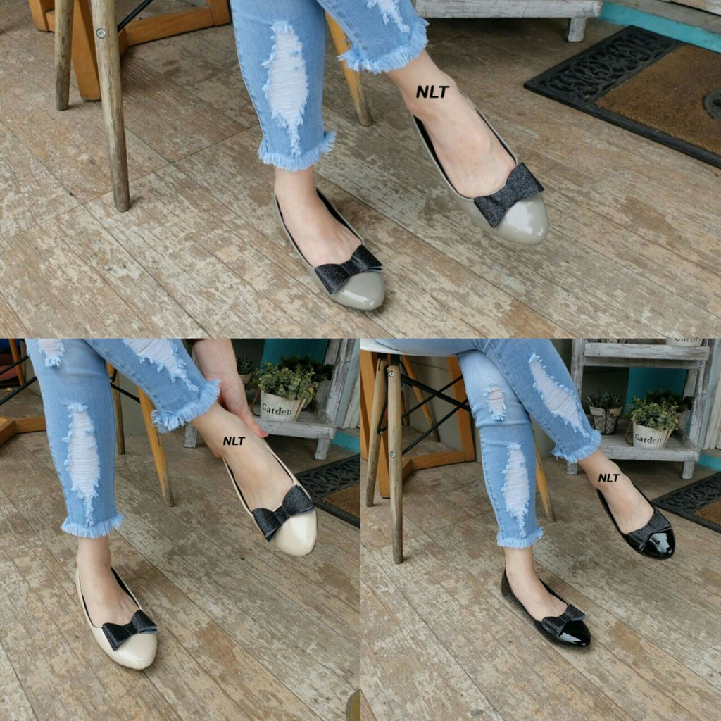 Dapatkan Harga Flat Shoes Glossy Diskon Shopee Indonesia Amazara Catrice Nude Flatshoes Ivory 40