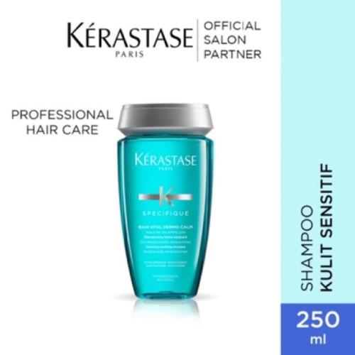 KERASTASE BAIN VITAL DERMO CALM 1000 ml ORIGINAL TERMURAH / KULIT SENSITIF-250 ml