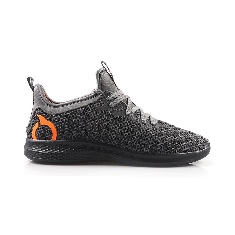 Sepatu Lari ORTUS EIGHT PHYTON - BLACK/ORTRANGE | Shopee Indonesia