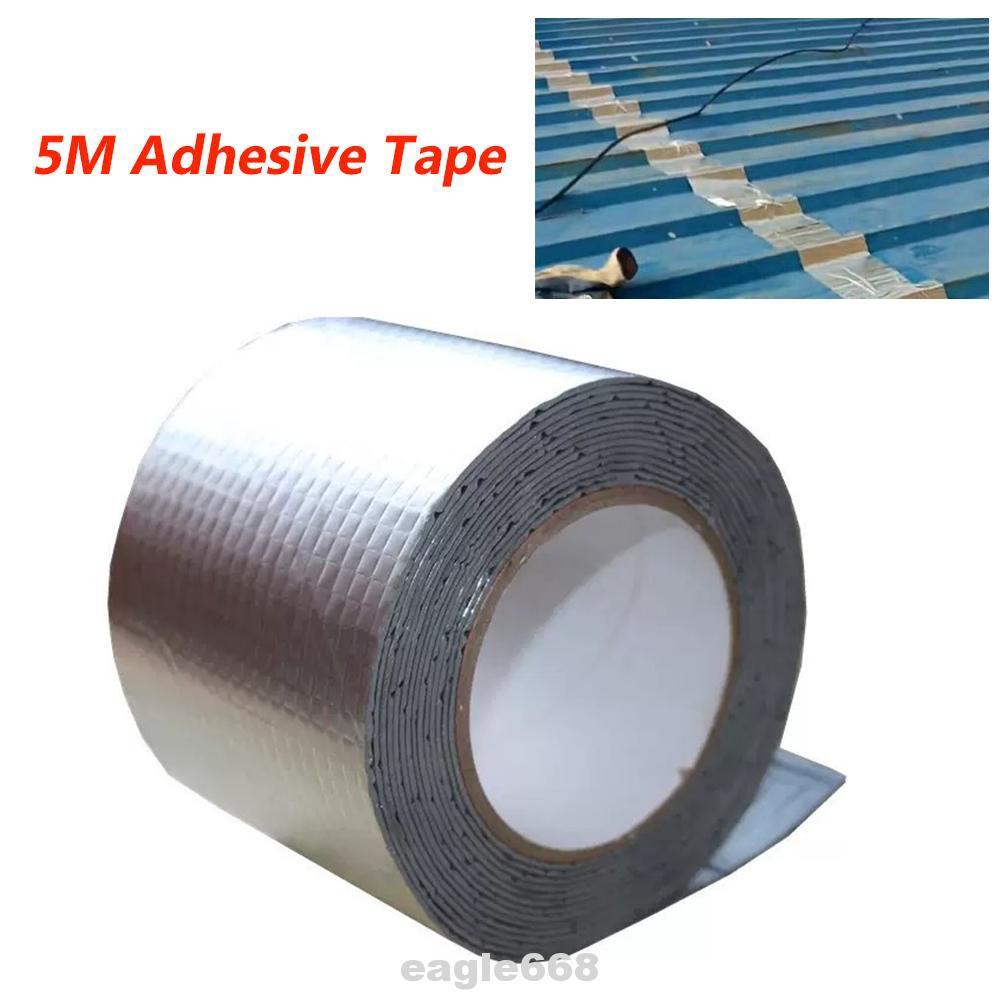 2 Roll Waterproof Duct Tape Butyl Seal Rubber Aluminum Foil Repair Heavy Duty UK