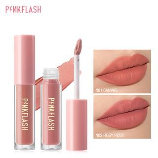 Pinkflash Ohmykiss Lipstick Lipstik Cair Matte Lembut Tahan Lama Dengan Pelembab 14 Warna thumbnail