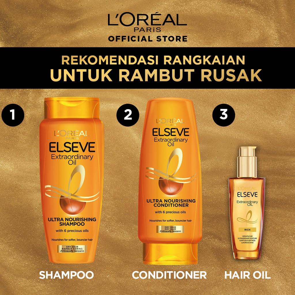 L'Oreal Paris Elseve Extraordinary Oil Ultra Nourishment Shampoo 170ml Hair Care-5