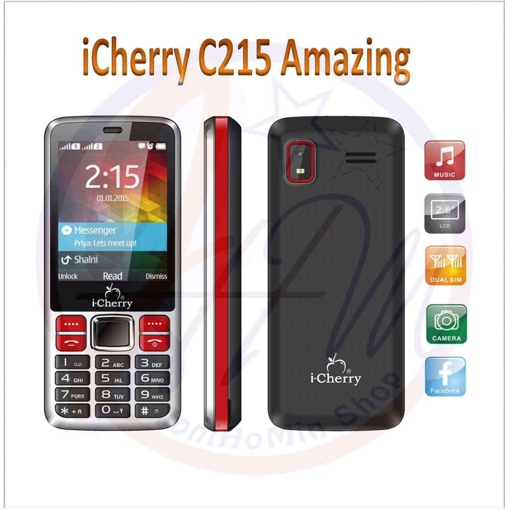 "HP I-Cherry C121 SELFIE Lcd 5"" HD Ips Android 5.1 (Best For Selfie) 