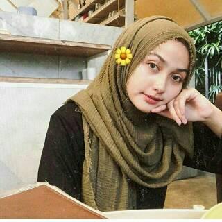 Tutorial Hijab Crinkle Leiner Fashion