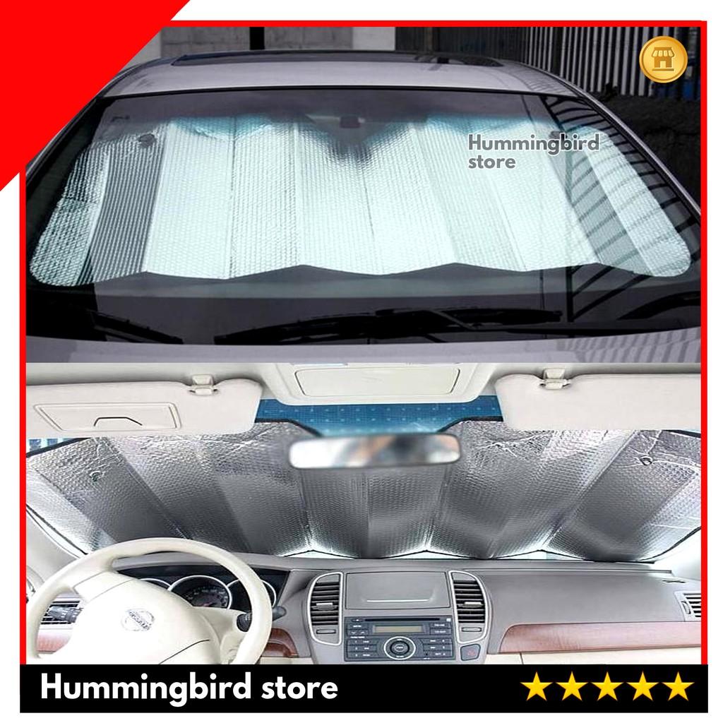 Car Cover Front Window Sun Block Windshield - Penutup Kaca Depan Mobil   Shopee Indonesia