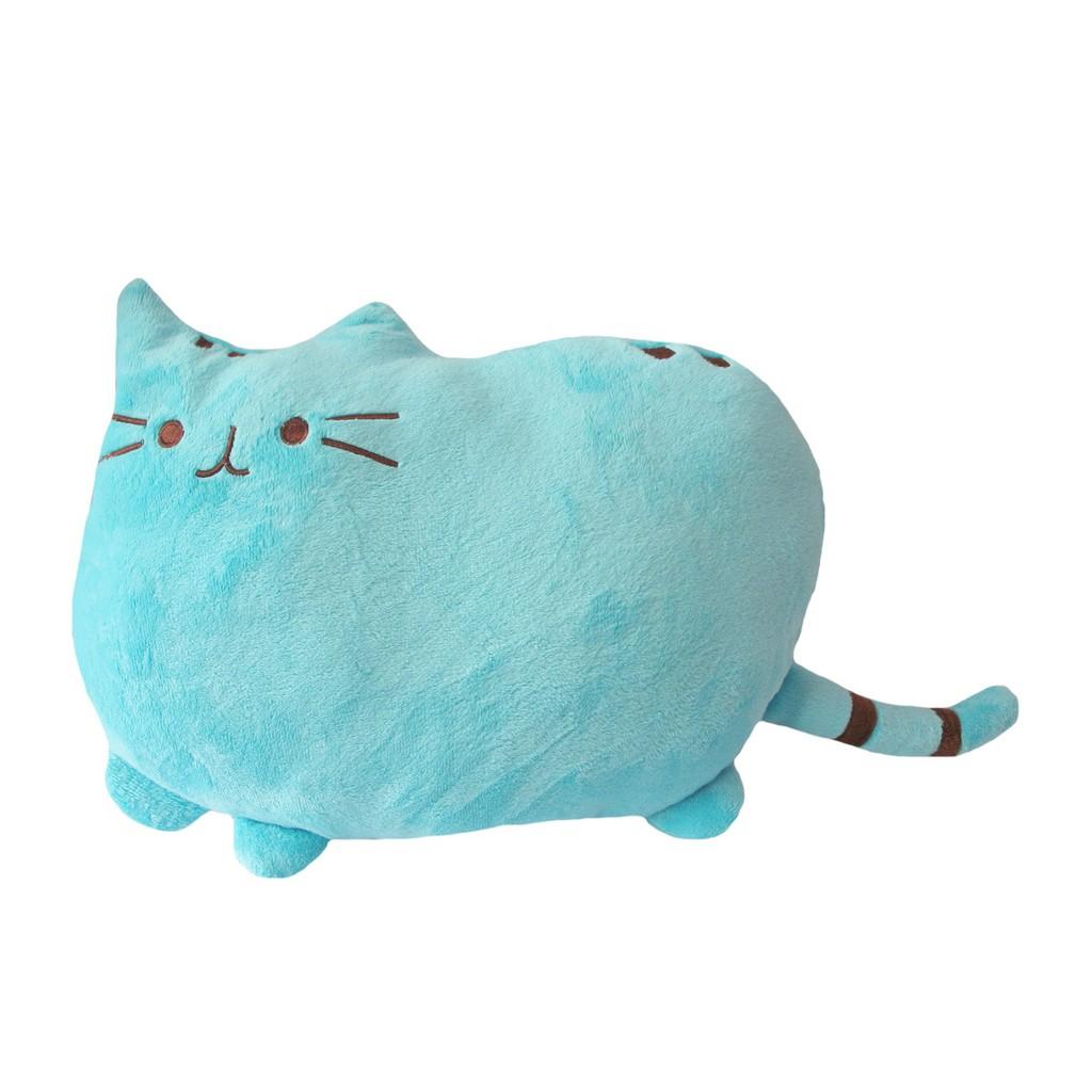 Bantal Boneka Kucing Pusheen Cat Biru Local Quality