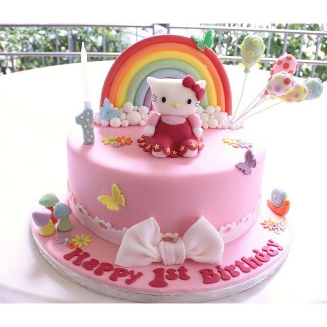 Custom Kue Ulang Tahun Anak Birthday Cake Unik Dan Lucu Bogor Shopee Indonesia