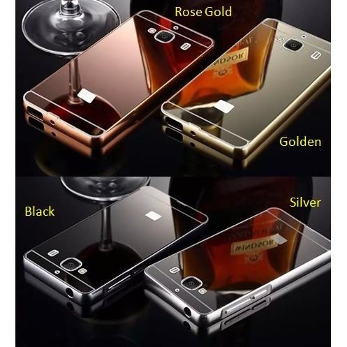 Metal Bumper Slide Mirror Keren Hard Cover Case Casing Oppo Joy R1001 | Shopee Indonesia