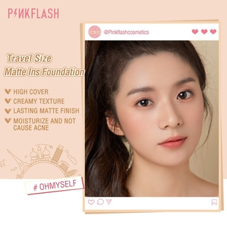 Pinkflash Ohmyself Foundation Matte Tahan Lama Untuk Semua Hari 3