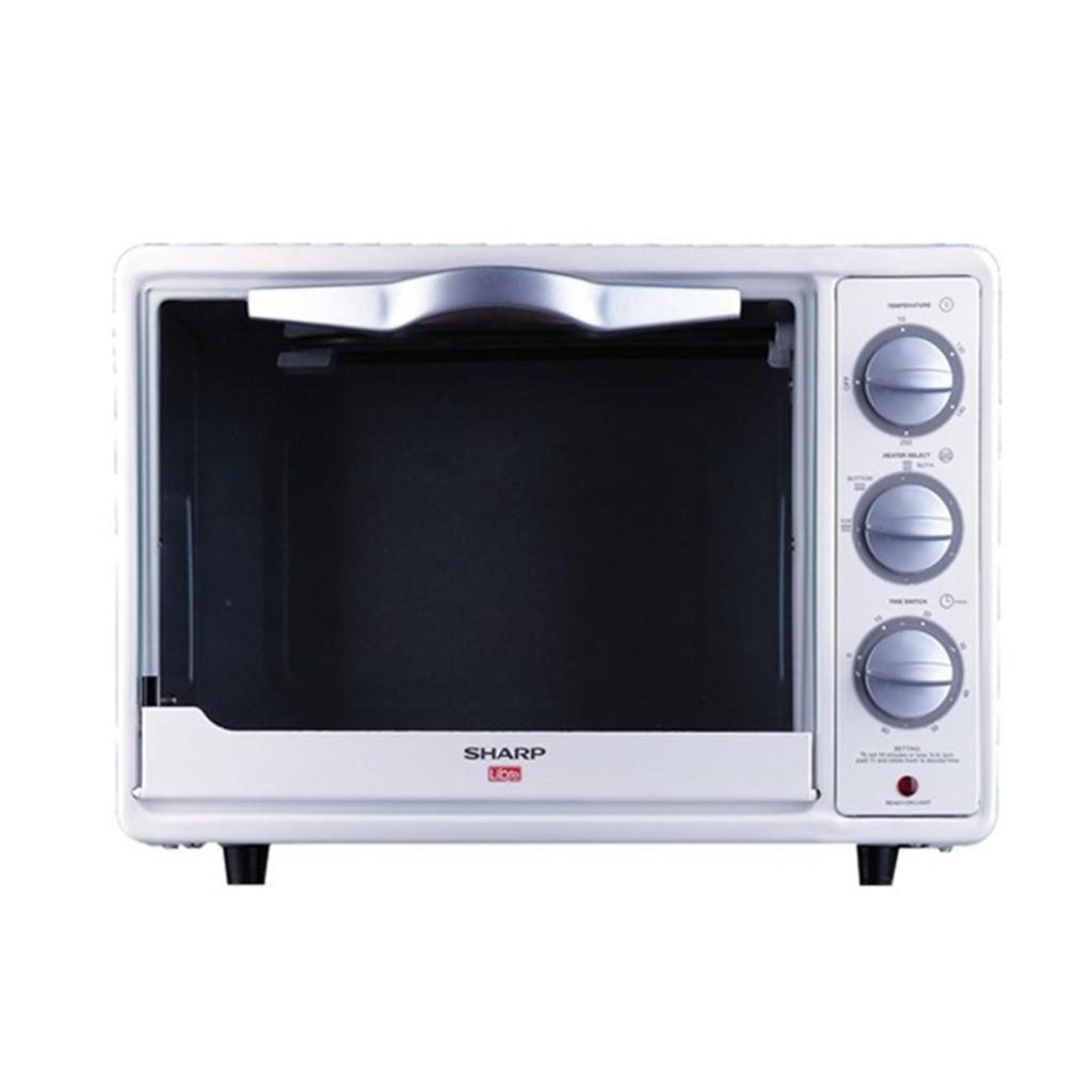 Sharp Oven Toaster 18liter Eo18lw 800watt Murah Garansi Resmi Automatic Cookware Kn H24ina 800 Watt 24 L Shopee Indonesia