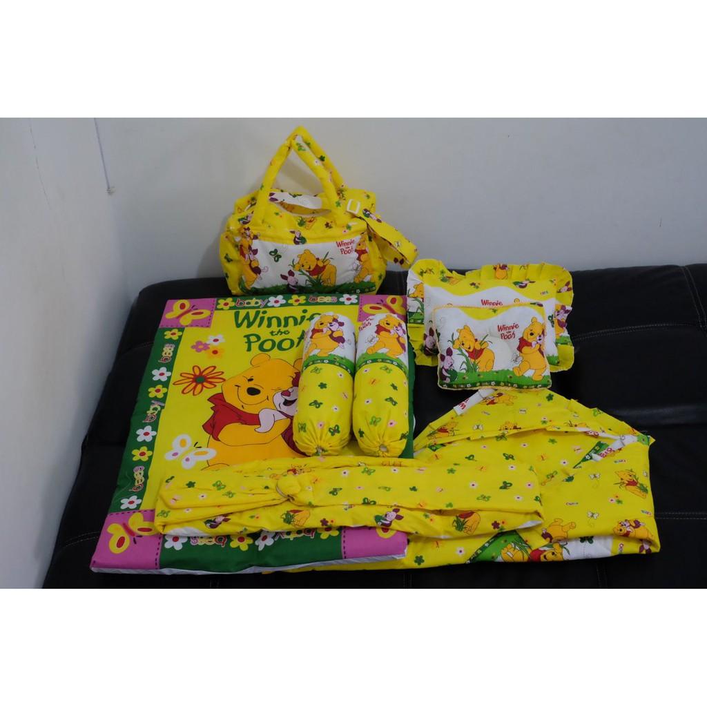 Tinyworld Bedrail 150cm Pembatas Kasur Pengaman Ranjang Anak Bayi Babybee Seprei Linen 95 X 65 Polkadot Kuning Shopee Indonesia