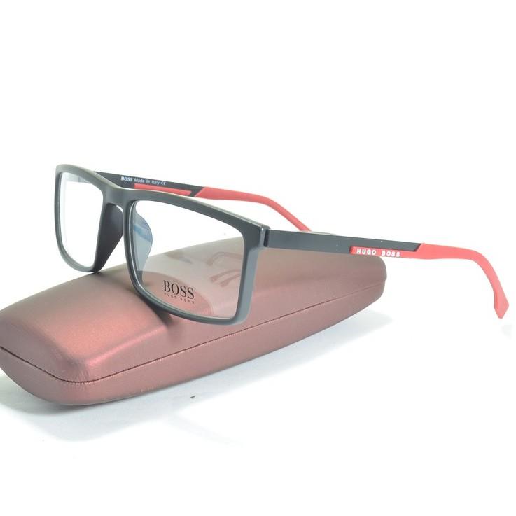 frame kacamata minus BOSS ( frame+lensa) B063 anti radiasi pria wanita  50f48a5e2e