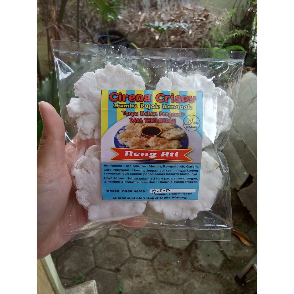 Teri Tawar Bunga Shopee Indonesia Kacang Medan Balado Special Premium 200 Gram