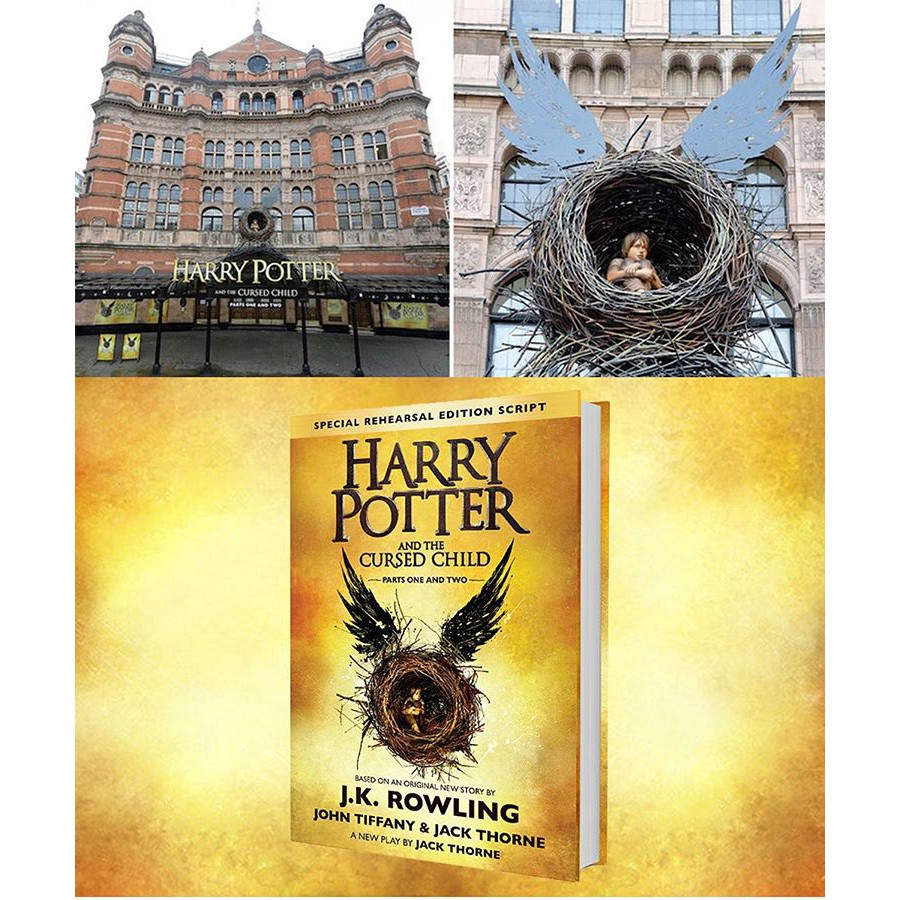 BEST SELLER HARRY POTTER: FANTASTIC BEAST AND WHERE TO FIND THEM BUKU NOVEL IMPORT PALING