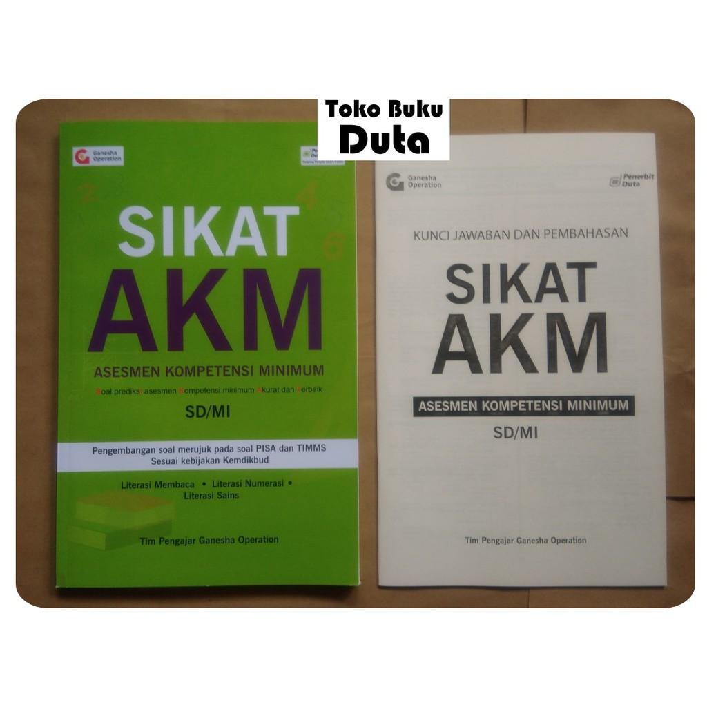 Buku Soal Akm Asesmen Kompetensi Minimum Sd Mi Shopee Indonesia